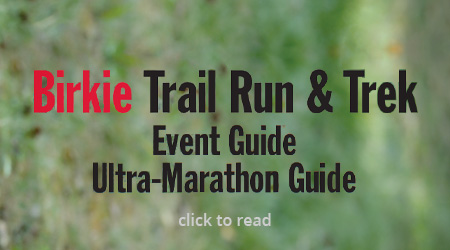 2017 Birkie Trail Run and Trek Event Guide