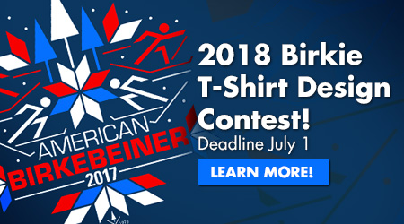2018 Birkie T-Shirt Design Contest! Deadline July 1