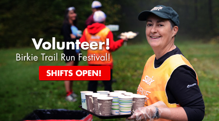 Volunteer! Birkie Trail Run Festival! Shifts Open!