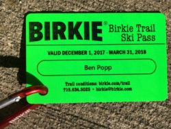 Birkie Trail Passes Available for Purchase