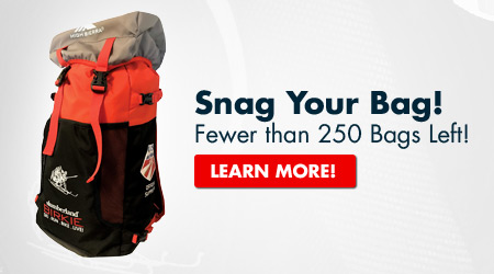 Snag Your Bag! - Fewer than 250 Bags Left! - Learn more!