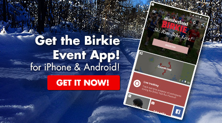 Birkie Event App - for iPhone and Android! Get it Now!