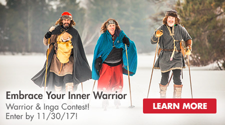 Embrace Your Inner Warrior - Warrior and Contest! Enter by 11/30/17