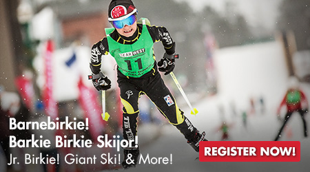 Barnebirkie! Barkie Birkie Skijor! Jr. Birkie! Giant Ski! and More! Register Now!