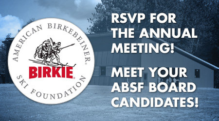 RSVP for the Annual Meeting! Meet Your ABSF Board Candidates!