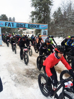 Fat Bike Birkie Start