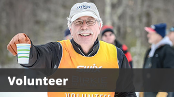 Birkie Volunteer