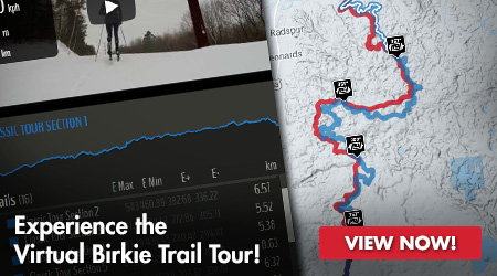 Experience the Virtual Birkie Trail Tour! View Now!