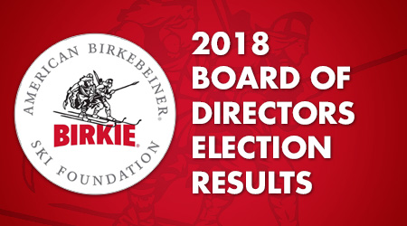 2018 Board of Directors Election Results