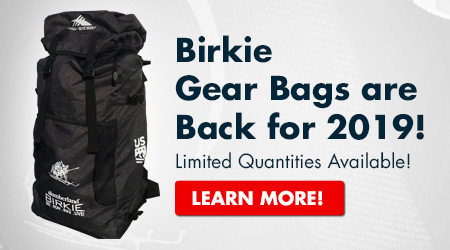 Birkie Gear Bags are Back for 2019! Limited Quantities Available! Learn More!