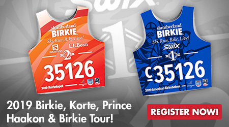 2019 Birkie, Korte, Prince Haakon and Birkie Tour! Register Now!