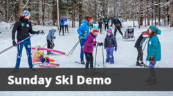 Sunday Ski & Bike Demo