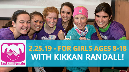 Fast and Female Champ Chat with Kikkan Randall! Register Now!