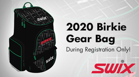 2020 Birkie Gear Bag! During Registration Only!