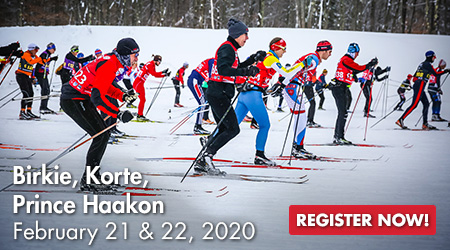 Birkie, Korte, Prince Haakon - February 21 & 22, 2020 - Register Now!
