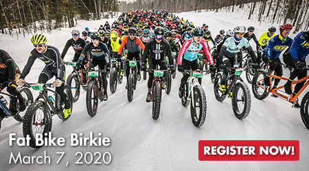 Fat Bike Birkie - March 7, 2020 - Register Now!