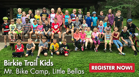 Birkie Trail Kids - Mt. Bike Camp, Little Bellas - Register Now!