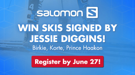 Win Skis Signed by Jessie Diggins! Birkie, Korte, Prince Haakon! Register by June 27!