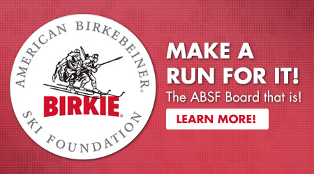 Make a Run For It! The ABSF Board that is! Learn More!