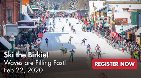 Ski the Birkie! Waves are Filling Fast! Feb 22, 2020 - Register Now!