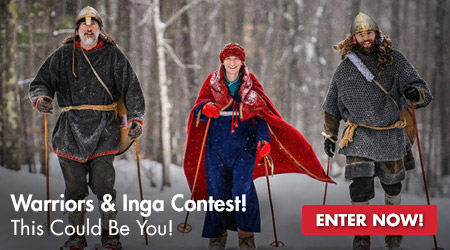 Warrior and Inga Contest - Opens November 1 - Learn More!