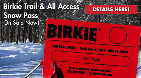 Birkie Trail and All Access Snow Pass On Sale Now! Details Here!
