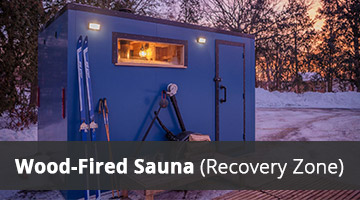 Wood-Fired Sauna (Recovery Zone)