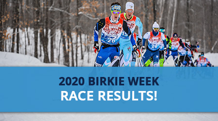 2020 Birkie Week Race Results
