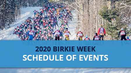 2020 Birkie Week Schedule of Events