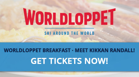 Worldloppet Breakfast - Meet Kikkan Randall! Get Tickets Now!