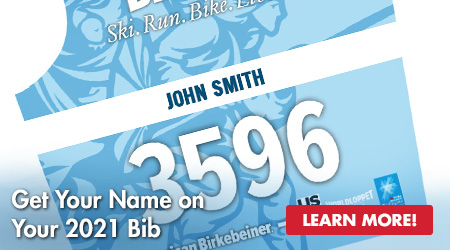 Get Your Name on Your 2021 Bib - Learn More!