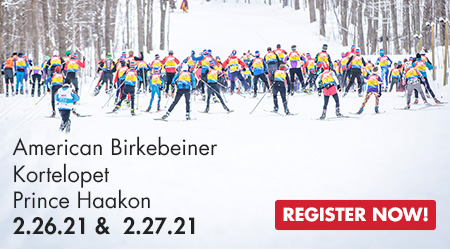 Korte, Birkie, Prince Haakon - 2.26.21 & 2.27.21 - Register Now!
