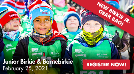 Junior Birkie and Barnebirkie - February 25, 2021 - Register Now!