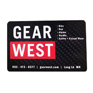 Gear West Gift Card