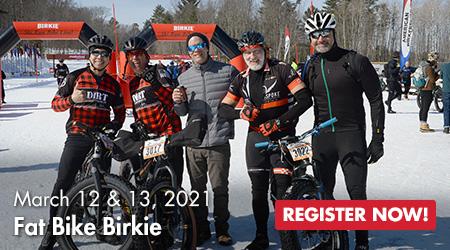 Fat Bike Birkie - March 12 & 13, 2021 - Register Now!