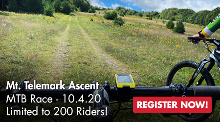 Mt. Telemark Ascent - MTB Race - 10.4.20 - Limited to 200 Riders! Register Now!
