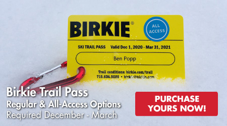 Birkie Trail Pass - Regular and All-Access Options - Required December-March - Purchase Yours Now!