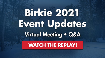 Birkie 2021 Event Updates - Virtual Meeting - Q&A - Watch the Replay!