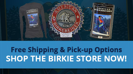 Get Your Birkie On! Free Shipping & Pick-up Options - Shop the Birkie Store Now!